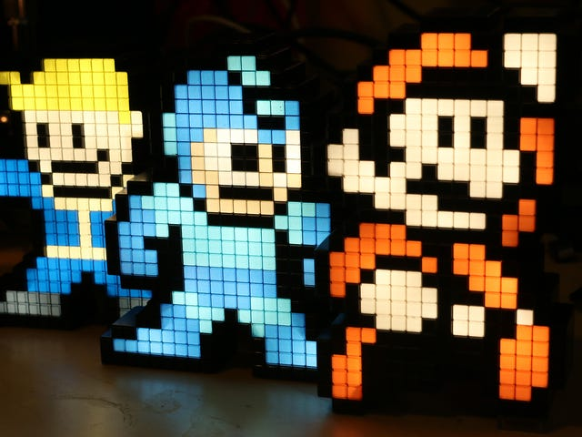 All Aboard the Nostalgia Train With These $10 Pixel Pals