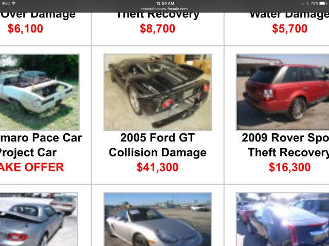 Bumperless Ford GT - 41.300 US-Dollar