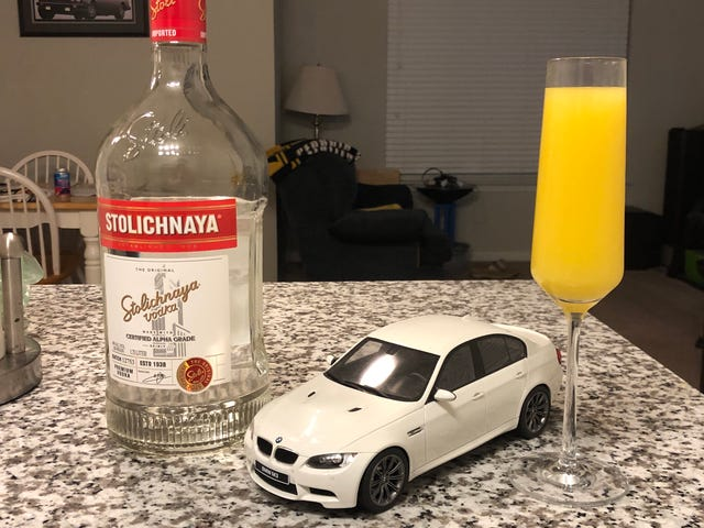 E90M3 is not sober