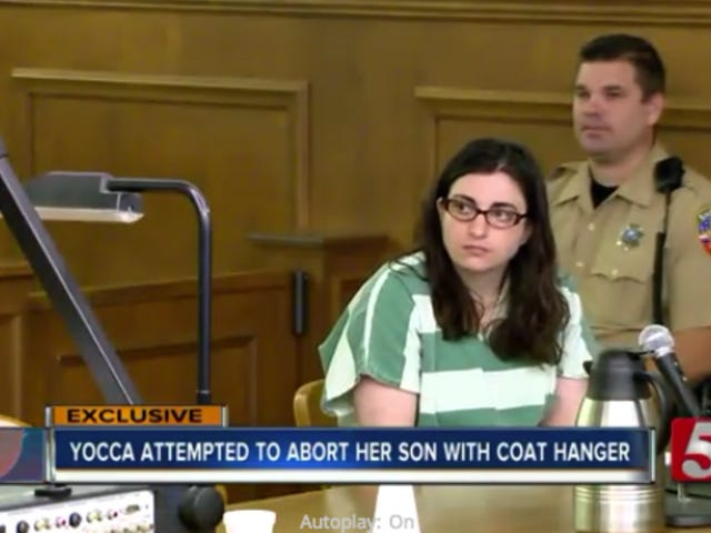 Woman Who Tried to Induce Her Own Abortion With a Coat Hanger Charged With 'Attempted Criminal Abortion'