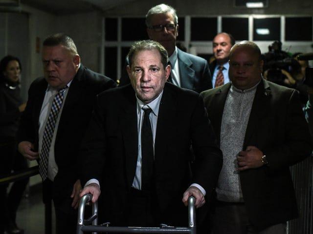Harvey Weinstein er ikke en mand, der striede