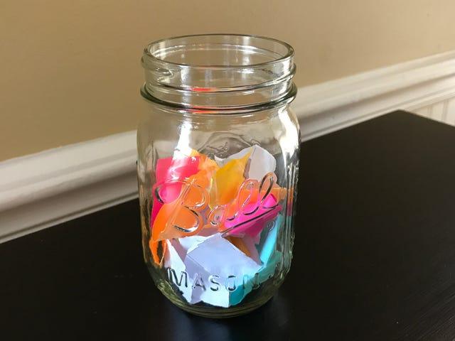สร้าง Jar 'I Want' สำหรับทุกความต้องการของเด็กน้อยของคุณ
