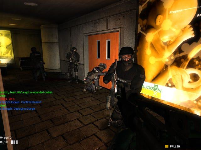 At long last, the beloved 2005 action/tactics game Swat 4 is available on GOG