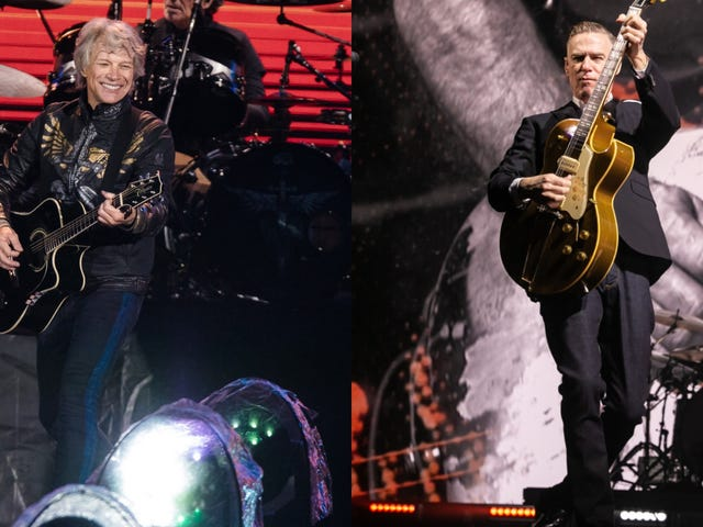 Bon Jovi dan Bryan Adams bergabung dalam tur musim panas arena rock