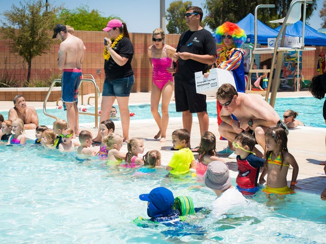 Take Turns Being the 'Water Watcher' at Kid Pool Parties