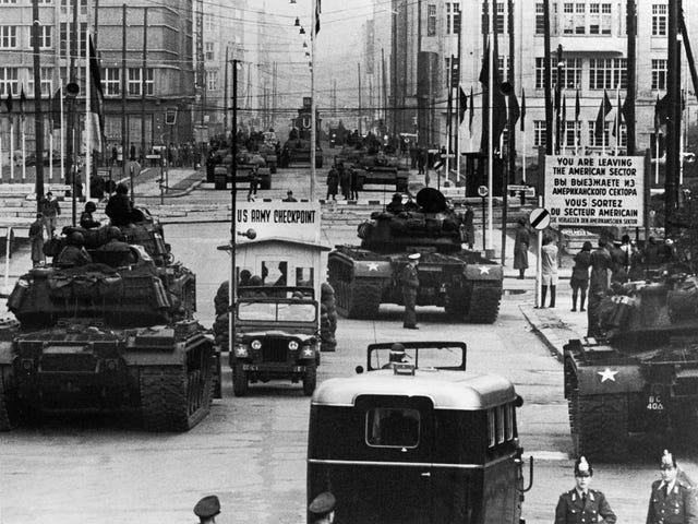 Checkpoint Charlie Standoff 1961