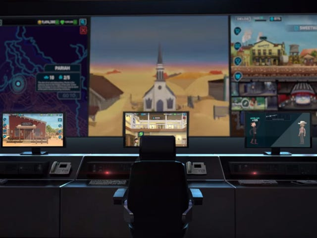 Westworld's Video Game Looks A Lot Like Fallout Shelter