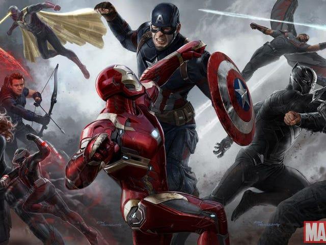 Captain America Civil War Reaction Thread