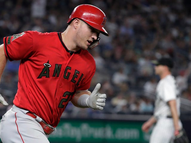 Mike Trout Reduces The Yankees To Cannon Fodder