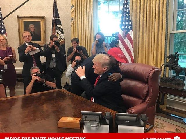 Kanye at the White House