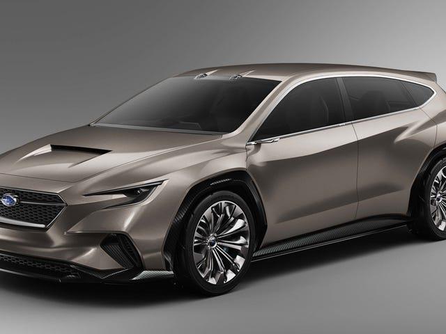 The Subaru Viziv Tourer Concept Is The WRX Wagon We Want Back
