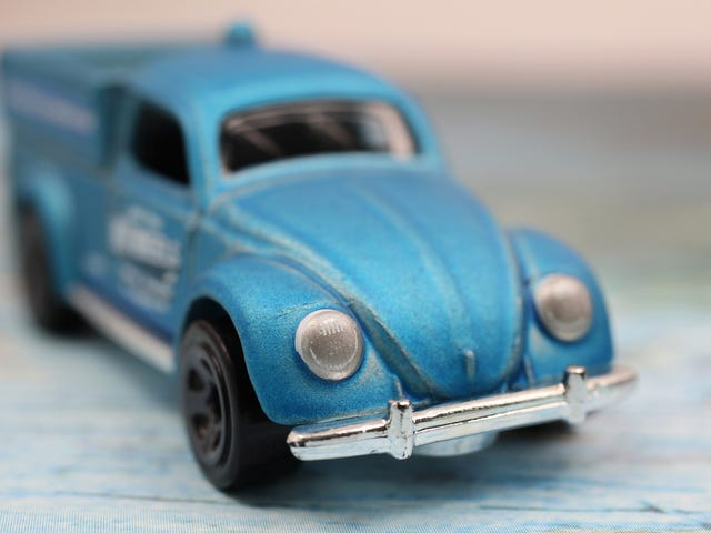 HOT WHEELS '49 VW BEETLE PICKUP