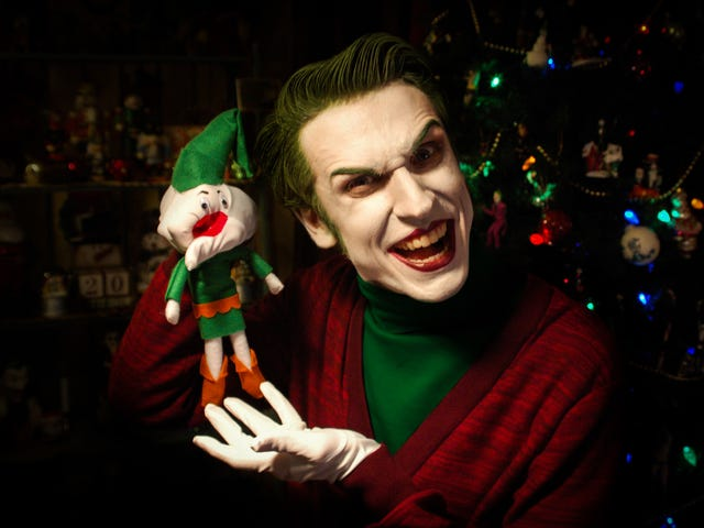 The Joker Wishes You All A Very Scary Christmas