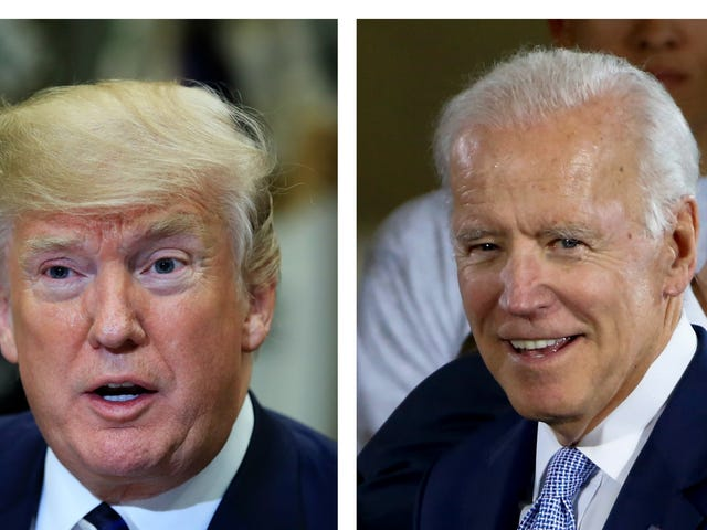 What Time Will the President and Former Vice President Fight?