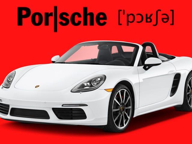 Porsche ha tenido que hacer un vídeo de 15 segundos para que por fin pronuncies bien su nombre
