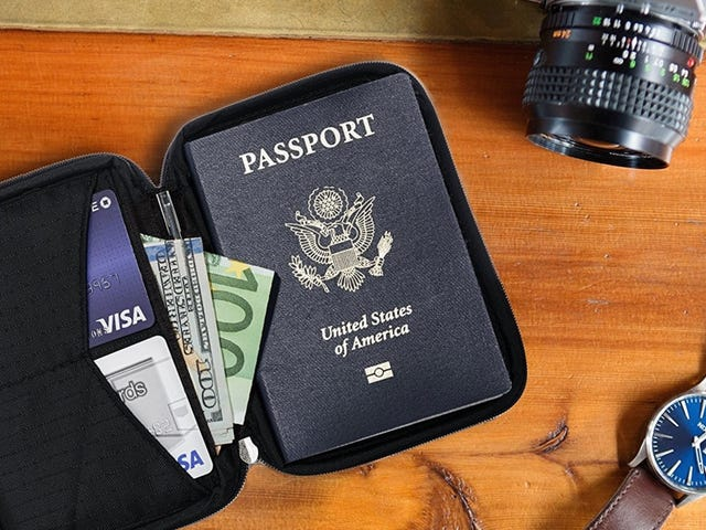 The Perfect Wallet For Overseas Travel Is Just $22 Today