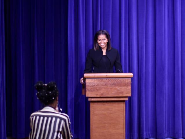 First Lady Michelle Obama, Beyaz Saray'da Gizli Rakamlar Gösterisine Ev Sahipliği Yaptı