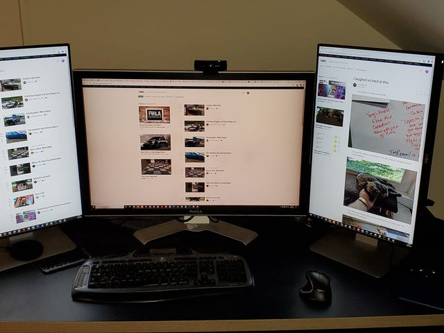 New Monitors! (Update: Boo Failure!)