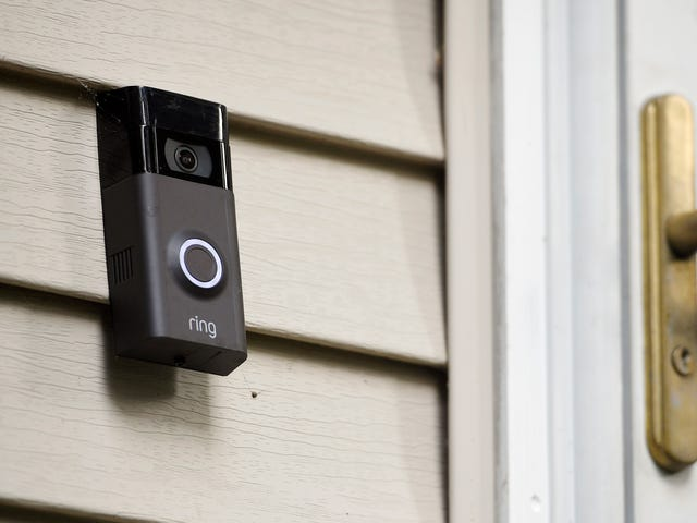 Amazon's Ring Barred Cops From Using 'Surveillance' to Describe Its Products