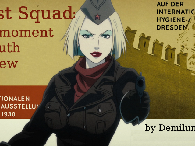 Review of First Squad: The Moment Of Truth - Russia's First Anime