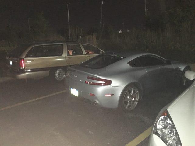Roadmaster møtte en kjendis i går kveld