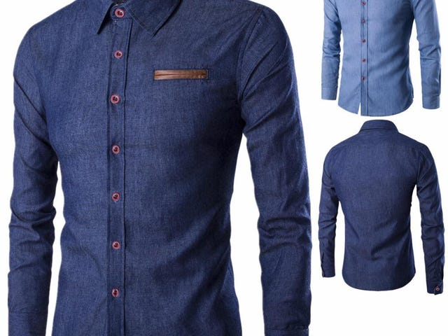 FASHION MEN SHIRT LONG SLEEVE SLIM FIT CASUAL MALE SHIRTS
