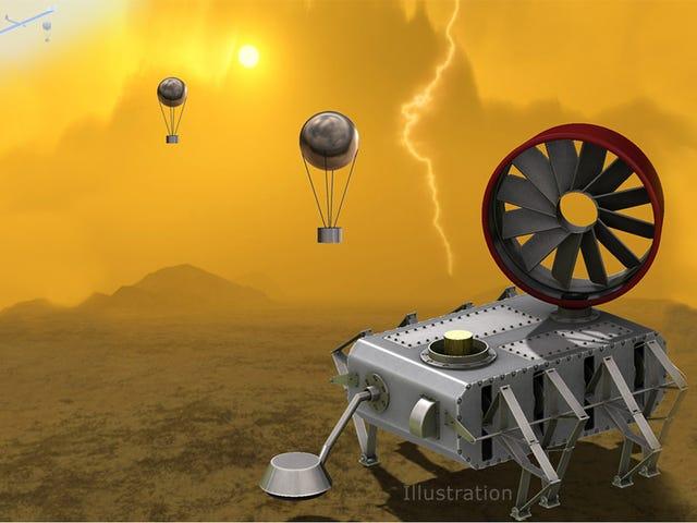 Η τελευταία ιδέα της Venus Probe της NASA μοιάζει με μια δημιουργία του Tim Burton