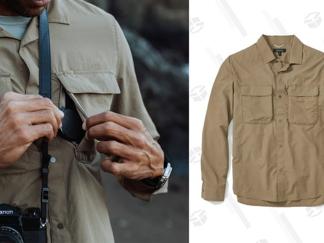 Huckberry Is Dropping the Price on This Great, Spring-Ready G.O.O.D. Shirt To A Low $64