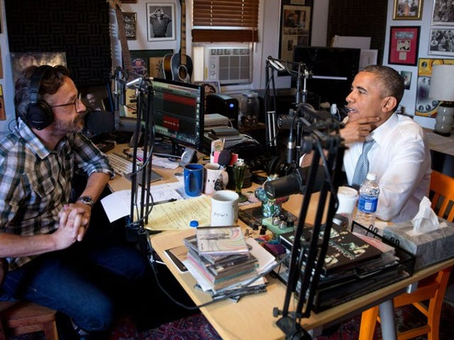 Marc Maron interviews Barack Obama, while Hannibal gets further dissected