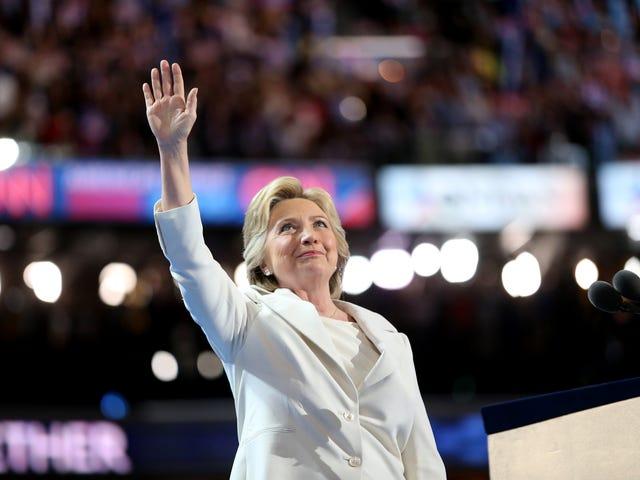 Hillary Clinton osoitti vuoden 2016 NABJ-NAHJ-yleissopimuksen