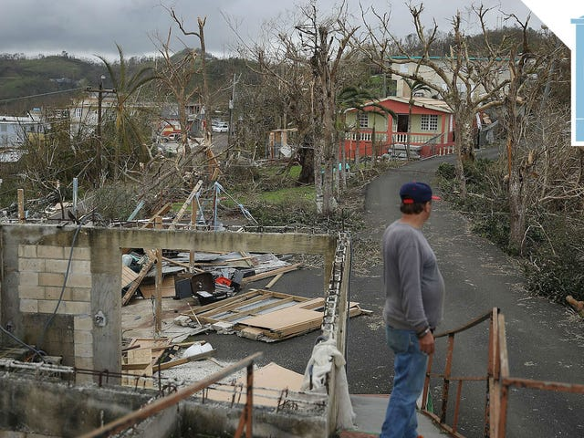 Trump Ignores Hurricane Maria Disaster in Favor of Scolding Black Athletes and Inciting Nuclear War