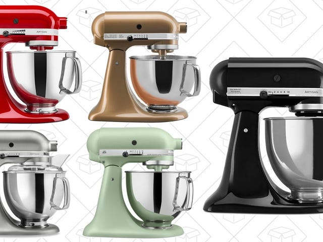 A Refurbished KitchenAid Stand Mixer Can Be Yours for $170