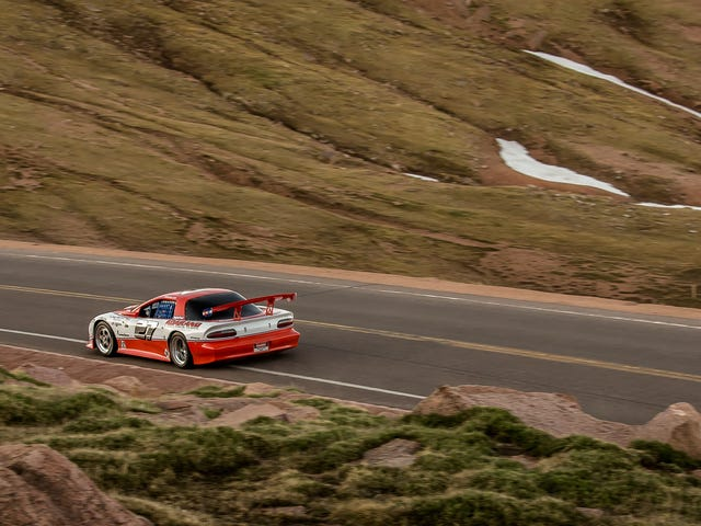 Some Lunatic Raced an F-Body Up Pike's Peak