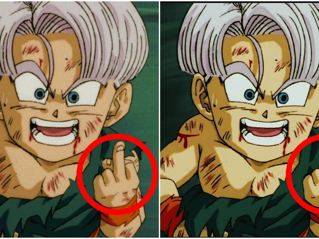In Japan, Dragon Ball Z Blu-ray Edits Out Obscene Hand Gesture