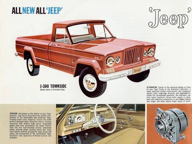 Jeep Gladiator Sales Brochure (1963)