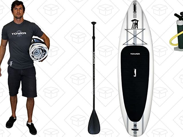 Start Dreaming of Beach Season With This Inflatable SUP, Now Cheaper Than Ever