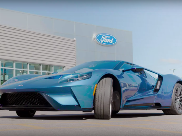 Ford Is Also Suing The Dealer That Bought And Apparently Resold John Cena's Ford GT