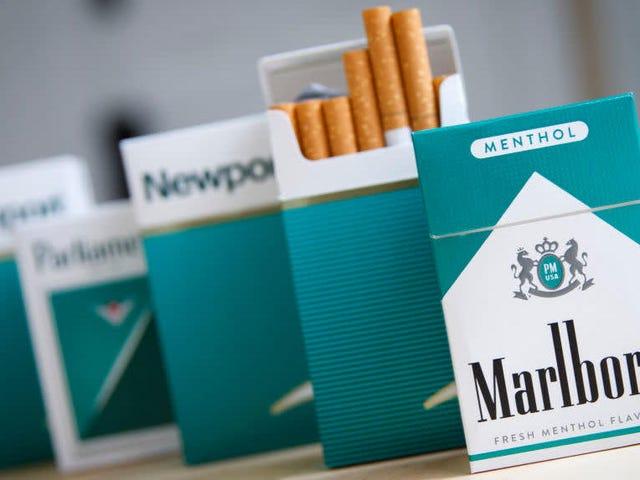 Siyah Sağlık Avukatları ABD Hükümetinin Diğer Aromalı Tütünlerde Olduğu Kadar Zorlu Olsun
