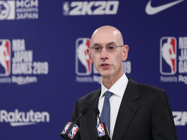 Adam Silver Issues Statement Meant To Appease Everybody; China Doesn't Buy It