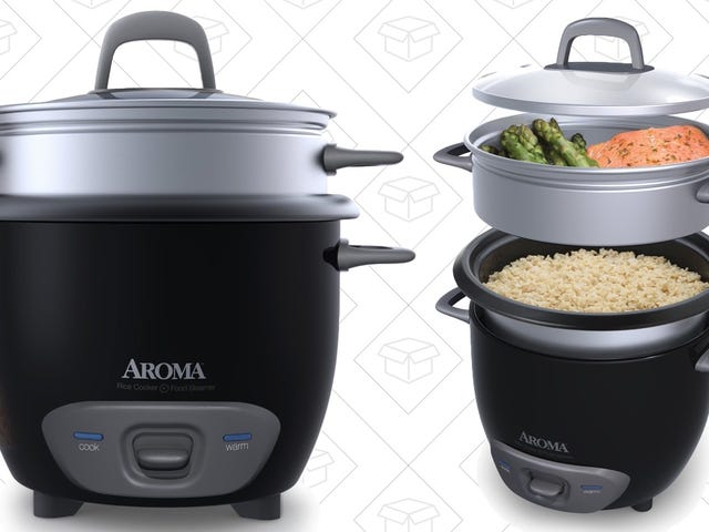 This $16 Rice Cooker Doubles As a Steamer