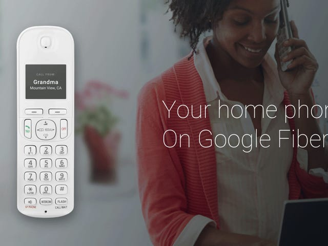 Google Wants to Make Landlines Relevant Again with Its New Fiber Phone