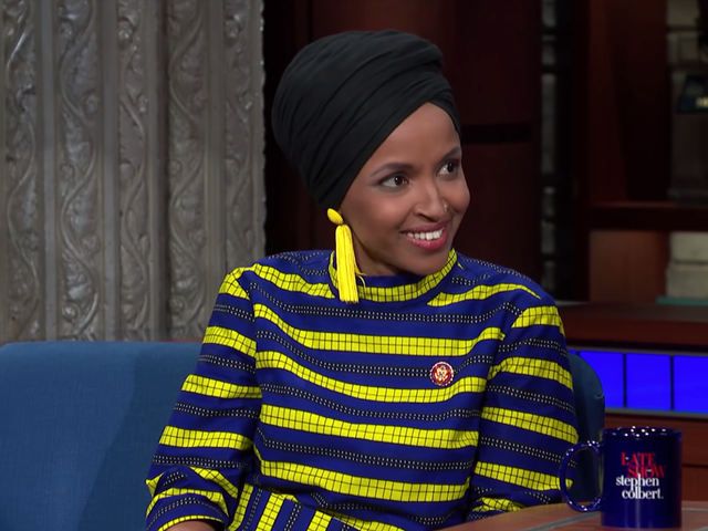 Ilhan Omar Says She's Not In Congress to Be Quiet