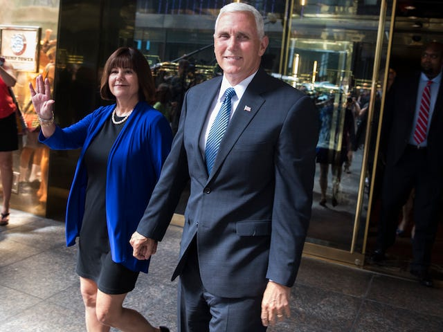 Karen Pence Has Shuttered Her 'Towel Charm' Business