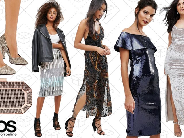 Figure Out Your Holiday Outfits With 30% Off Partywear from ASOS