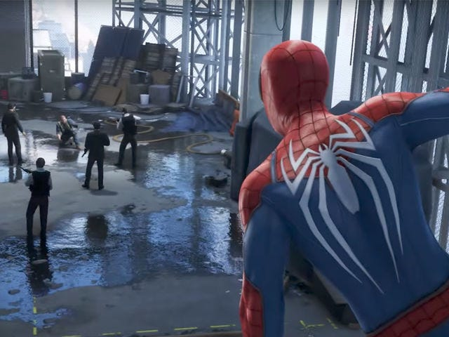 People Who Haven't Played <i>Spider-Man</i> Are Mad The Developers Took Out A Puddle