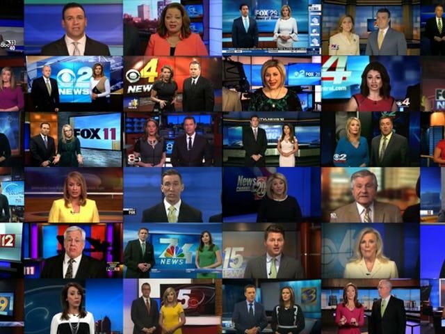 Como o maior dono de TV local da América transformou suas âncoras de notícias em soldados na guerra de Trump na mídia