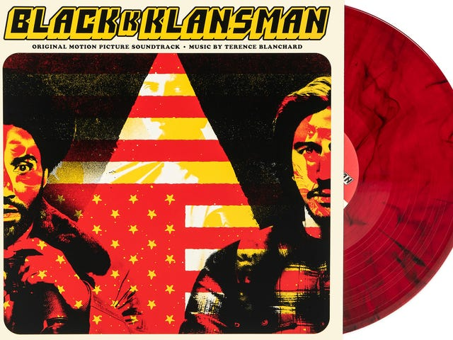 We're giving away the Oscar-nominated BlacKkKlansman soundtrack on vinyl