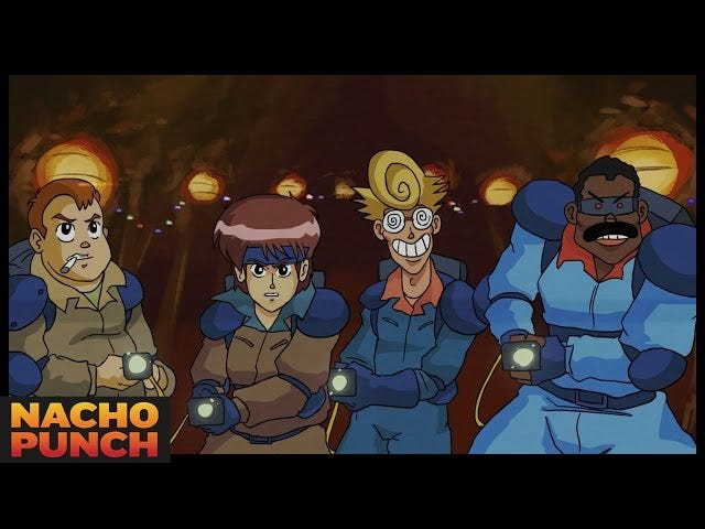What Would Ghostbusters Look Like As A 1980s Anime? Pretty Damn Fun