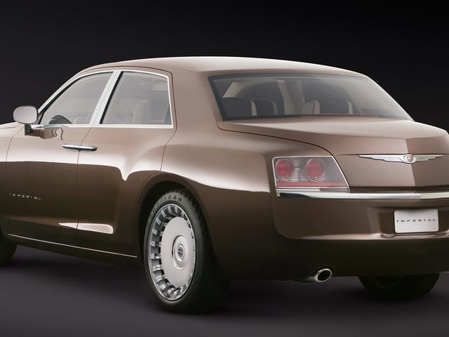 Chrysler Made A Bentley-Derived Luxury Concept Before Lincoln Pulled It Off