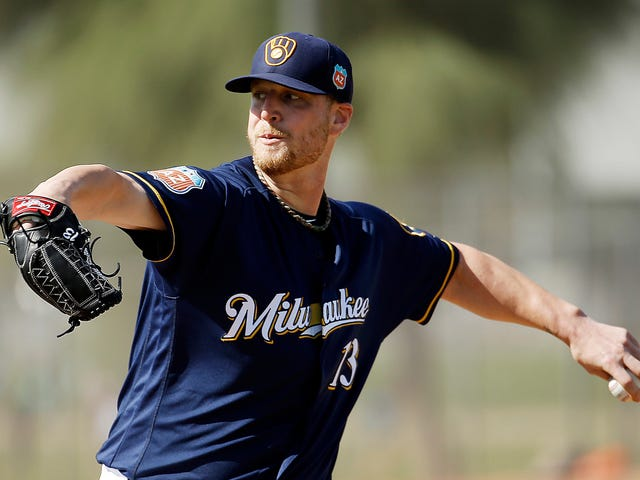 Brewers Pitcher Will Smith Tore His Knee While Trying To Take Off His Shoes